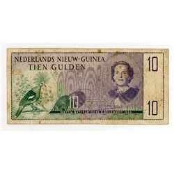 Nederlands Nieuw-Guinea, 1954, 10 Gulden Issue Note.