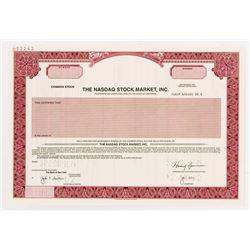 Nasdaq Stock Market, Inc., 2001 Specimen Stock Certificate