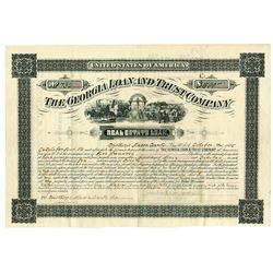 Georgia Loan & Trust Co., 1885 Cancelled Bond