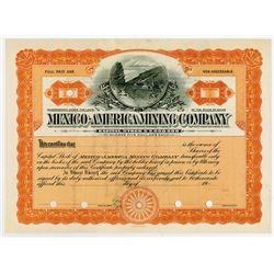 Mexico-America Mining Co., 1920-1930s Specimen Stock Certificate