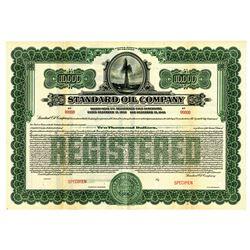 Standard Oil Co., 1926 Specimen Registered 5% Gold Bond.