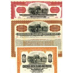 Chicago, Rock Island and Pacific Railway Co., ca.1910-1930 Bond Trio