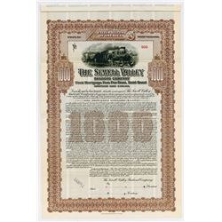 Sewell Valley Railroad Co., 1908 Specimen Bond