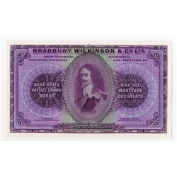 Bradbury, Wilkinson & Co., Ltd. ND (ca.1890-1910) Advertising Note.