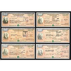 U.S. Savings Bond, Series EE ca. 1983-1997 Bond Assortment.