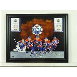 Edmonton Oilers banner (73-690)