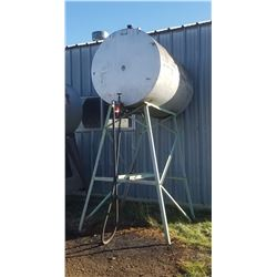 500 gallon fuel tank on stand, diesel