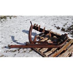 "Danuser-style post auger, 3 pt., 9"" bit"
