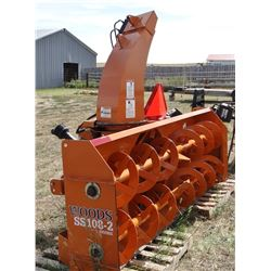 "Woods SS108-2 snow blower, 108"", BRAND NEW!"