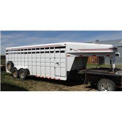 2001 Travalong stock trailer, 20 ft