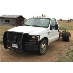 2007 Ford F-350 dually, chassis cab