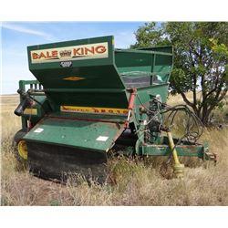 Bale King Vortex R2010 bale processer