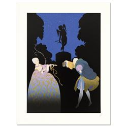 "Erte (1892-1990), ""Rendezvous"" Limited Edition Serigraph, Numbered and Hand Signed with Certificate"