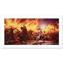 """Journey In The Dark"" Limited Edition Giclee on Canvas by The Brothers Hildebrandt. Numbered and Han"