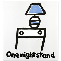 """One Night Stand"" Limited Edition Lithograph by Todd Goldman, Numbered and Hand Signed with Certific"