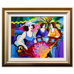"Patricia Govezensky- Original Acrylic on Canvas ""City View"""