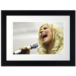 """""""Christina Aguilera"""" Limited Edition Giclee by Rob Shanahan, Numbered and Hand Signed with COA. This"""