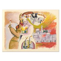 """Theo Tobiasse (1927-2012), """"Jacob Rachel Et Leah"""" Limited Edition Lithograph, Numbered and Hand Sign"""
