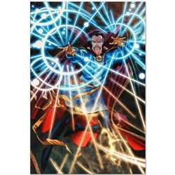 """Marvel Comics """"Marvel Adventures: Super Heroes #5"""" Numbered Limited Edition Giclee on Canvas by Roge"""