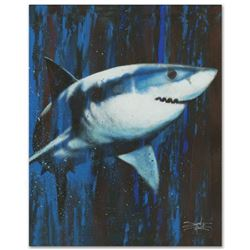 """""""Silent Killer"""" Limited Edition Giclee on Canvas by Stephen Fishwick, Numbered and Signed with COA."""
