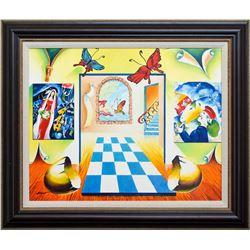 "Alexander Astahov- Original Oil on Canvas ""The Colours of Love"""