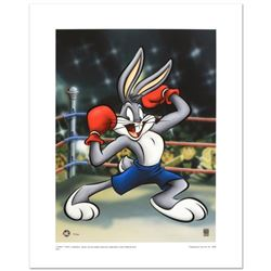"""""""Boxer Bugs"""" Limited Edition Giclee from Warner Bros., Numbered with Hologram Seal and Certificate o"""