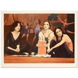 """William Nelson, """"The Audition"""" Limited Edition Lithograph, Numbered and Hand Signed by the Artist."""