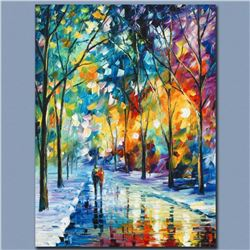 """Leonid Afremov """"Under the Gaze"""" Limited Edition Giclee on Canvas, Numbered and Signed; Certificate o"""