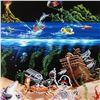 """Image 2 : """"Sand Bar 2"""" Mural Limited Edition Hand-Embellished Giclee on Canvas (42"""" x 53"""") by Michael Godard,"""