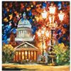 """Leonid Afremov """"Twinkling of the Night"""" Limited Edition Giclee on Canvas, Numbered and Signed; Certi"""