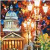 """Image 2 : Leonid Afremov """"Twinkling of the Night"""" Limited Edition Giclee on Canvas, Numbered and Signed; Certi"""