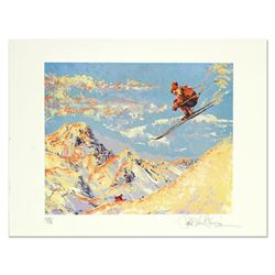 Paul Blaine Henrie (1932-1999),  The Sunset Skier  Limited Edition Serigraph from a PP Edition, Hand