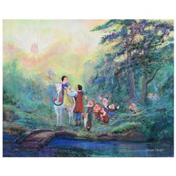 """Harrison Ellenshaw, """"Someday My Prince Will Come"""" Limited Edition Giclee on Canvas, Licensed by Disn"""
