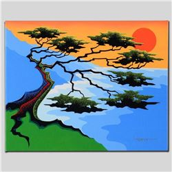 """""""Sunset"""" Limited Edition Giclee on Canvas by Larissa Holt, Numbered and Signed with COA. This piece"""