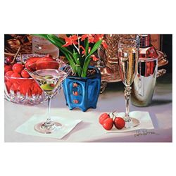 """Nobu Haihara, """"Fruits Of Success"""" Limited Edition Canvas, Signed and with COA."""