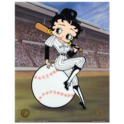"""""""Betty on Deck, Rockies"""" Limited Edition Sericel from King Features Syndicate, Inc., Numbered with C"""