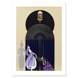 """Erte (1892-1990), """"Bird in a Gilded Cage"""" Limited Edition Serigraph, Numbered and Hand Signed with C"""