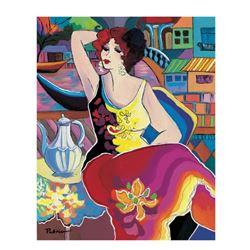 "Patricia Govezensky- Original Giclee on Canvas ""Morning Breeze"""