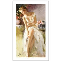 "Pino (1939-2010) ""Angelica"" Limited Edition Giclee. Numbered and Hand Signed; Certificate of Authent"