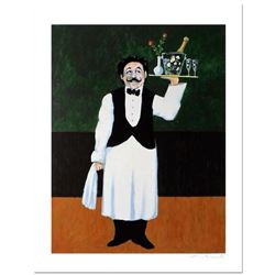 "Guy Buffet, ""Room Service"" Limited Edition Serigraph; Numbered and Hand Signed with Certificate of A"