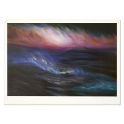 "Wyland, ""Storm"" Limited Edition Lithograph, Numbered and Hand Signed with Certificate of Authenticit"