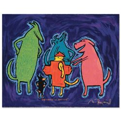 """""""Bad Choice Of Costume"""" Limited Edition Hand Pulled Original Lithograph By Matt Rinard, Numbered and"""