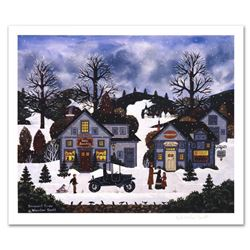 """""""Innocent Times"""" Limited Edition Lithograph by Jane Wooster Scott, Numbered and Hand Signed with Cer"""