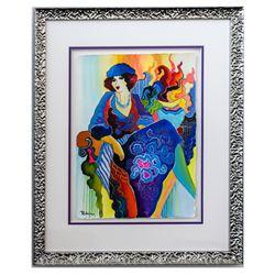 "Patricia Govezensky- Original Watercolor ""Anna"""