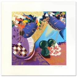 """Lee White (1948-2004), """"Whispers II"""" Limited Edition Serigraph, Numbered and Hand Signed by the Arti"""
