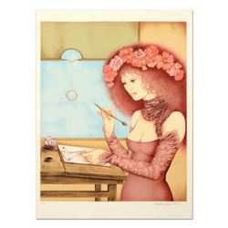 """Basson, """"The Diary"""" Limited Edition Lithograph, Numbered and Hand Signed."""