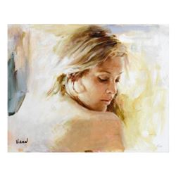 """Vidan, """"Warmth"""" Limited Edition on Canvas, Numbered and Hand Signed with Certificate."""