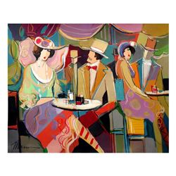 """Isaac Maimon, """"Apologize"""" Original Acrylic Painting, Hand Signed with Certificate of Authenticity."""