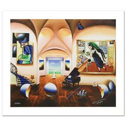 """""""Masters Musician Beginning"""" Limited Edition Giclee on Canvas by Ferjo, Numbered and Hand Signed by"""