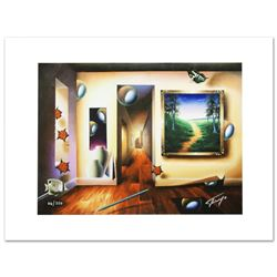 """""""Dreamlike Corridor"""" Limited Edition Giclee on Canvas by Ferjo, Numbered and Hand Signed by the Arti"""